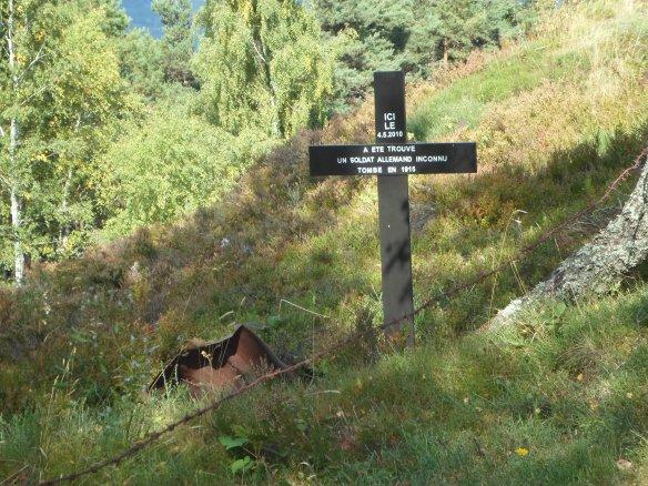 Le Linge German soldier remains.jpg