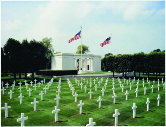 ABMC St Mihiel American Cemetery, Thiacourt, France
