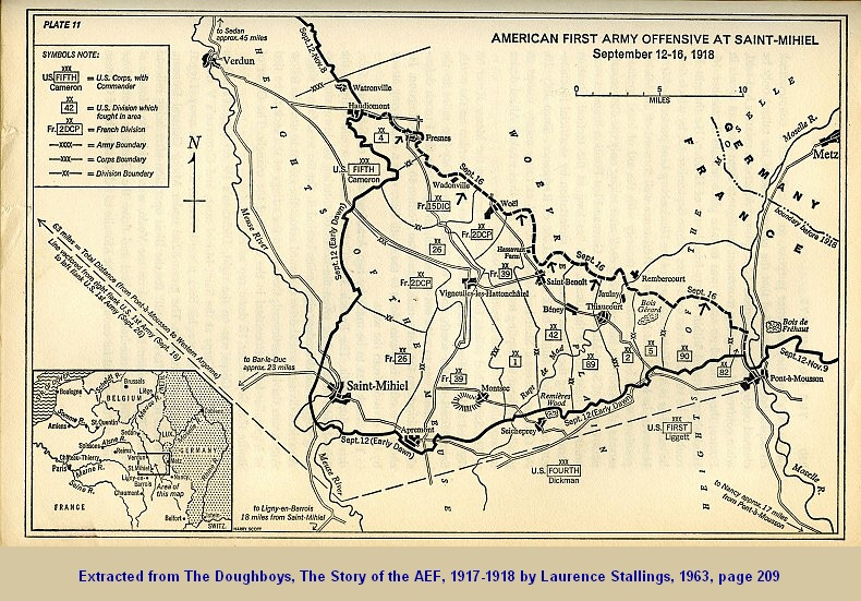 American led st mihiel offensive aimed to reduce size of german salient