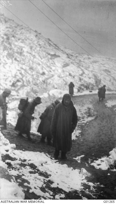 Snow at Gallipoli