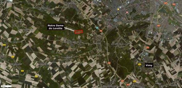 Notre Dame de Lorette Map-2